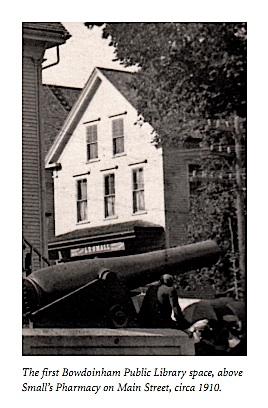 First Bowdoinham Public Library space